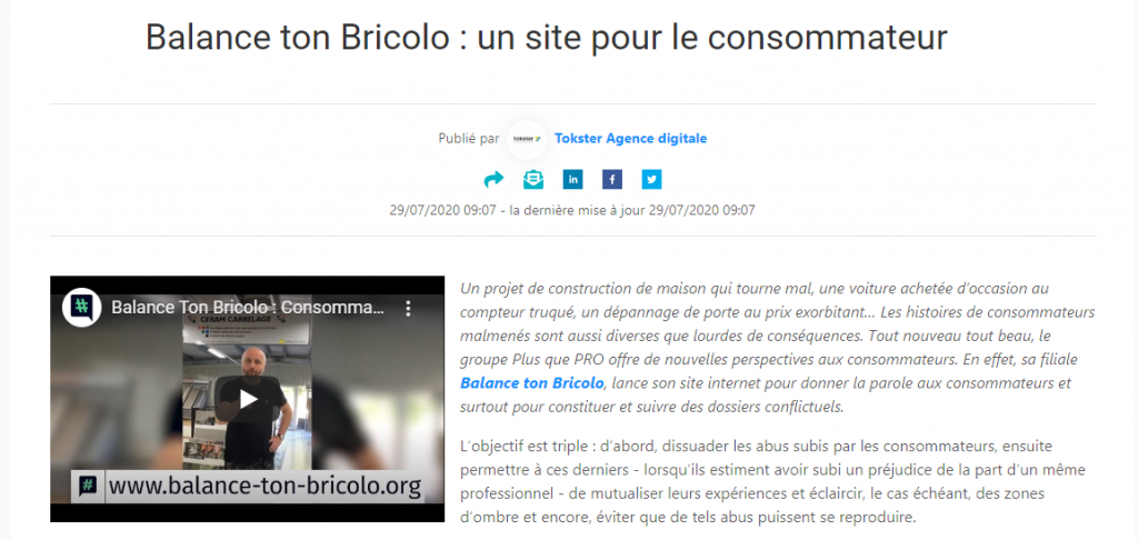 Article Balance ton Bricolo