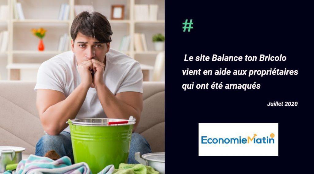 Economie Matin présente Balance ton Bricolo