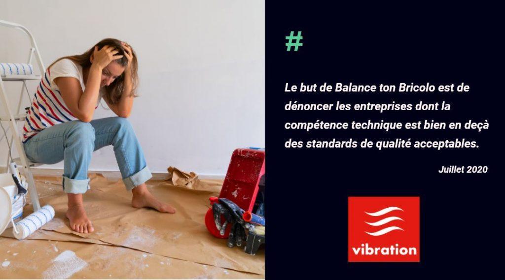 La Minute Eco de la radio Vibration parle de Balance ton Bricolo